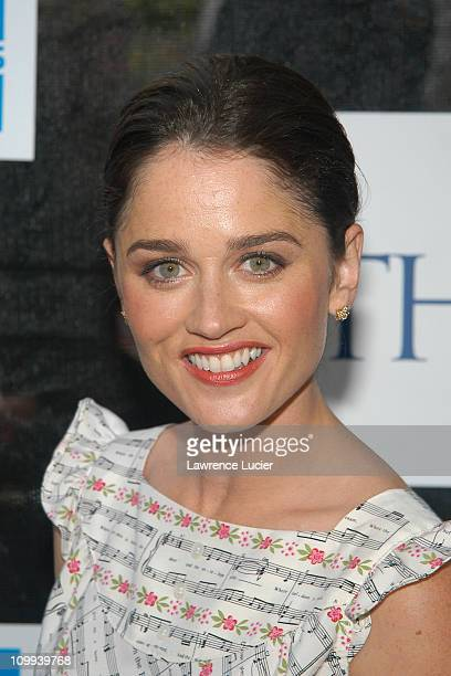 Robin Tunney during 2003 Tribeca Film Festival Premiere of The InLaws at Tribeca Film Festival in New York City New York United States