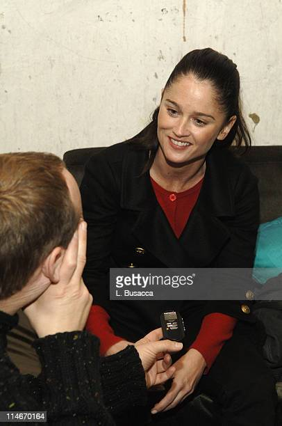 Robin Tunney during 2006 Park City Hollywood Life House and Cadillac Lounge Day 1 at 518 Main Street in Park City Utah United States