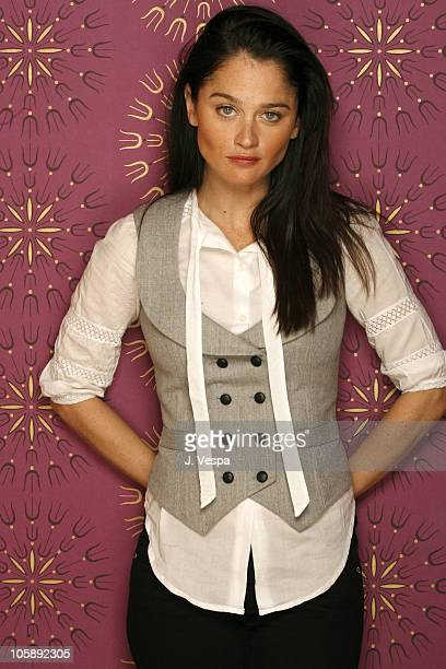 Robin Tunney during 2006 Sundance Film Festival 'Open Window' Portraits at HP Portrait Studio in Park City Utah United States
