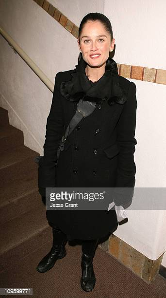 Robin Tunney during 2006 Sundance Film Festival 'Open Window' Premiere at Library in Park Utah United States