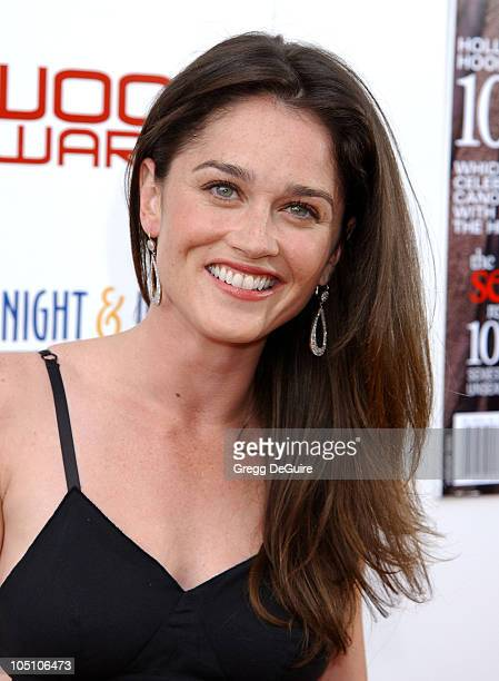 Robin Tunney during AMC Movieline's Hollywood Life Magazine's Young Hollywood Awards 2003 at El Rey Theatre in Los Angeles California United States