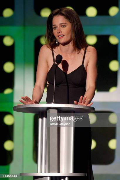Robin Tunney during AMC Movieline's Hollywood Life Magazine's Young Hollywood Awards Show at El Rey Theatre in Los Angeles California United States