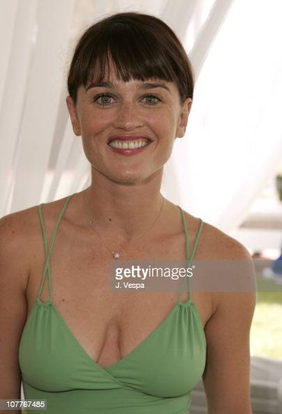 Robin Tunney During Juicy Couture Swimwear Launch At
