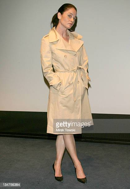 Robin Tunney during 'Open Window' Movie Presentation at the Reel Women International Film Festival Opening Night Gala at Skirball Cultural Center in...