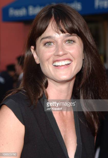 Robin Tunney during 'The Chronicles Of Riddick' World Premiere Arrivals at Universal Amphitheatre in Universal City California United States