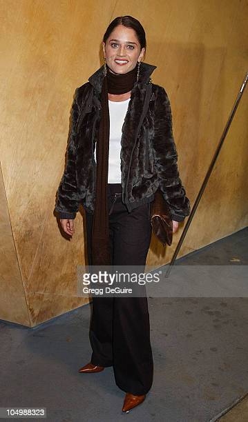 Robin Tunney during 'The Grey Zone' Premiere to Benefit The LA Museum Of The Holocaust at Writers Guild Theatre in Beverly Hills California United...