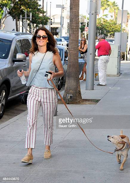 Robin Tunney is seen on August 18 2015 in Los Angeles California