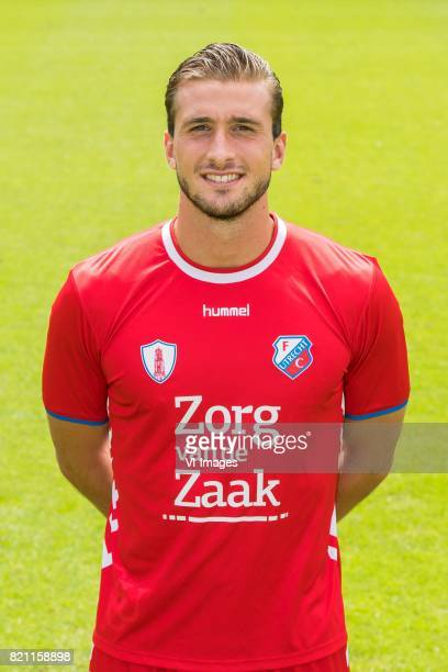 Robin van der Meer during the team presentation of FC Utrecht on July 22 2017 at Sportcomplex Zoudenbalch in Utrecht The Netherlands
