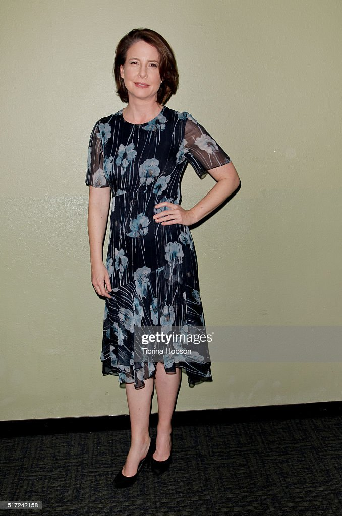 Robin Weigert attends the 'Take Me to The River' special Outfest screening and QA at Landmark Regent on March 23 2016 in Los Angeles California