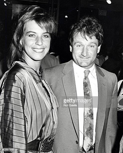 Robin Williams and Wife Valerie Williams