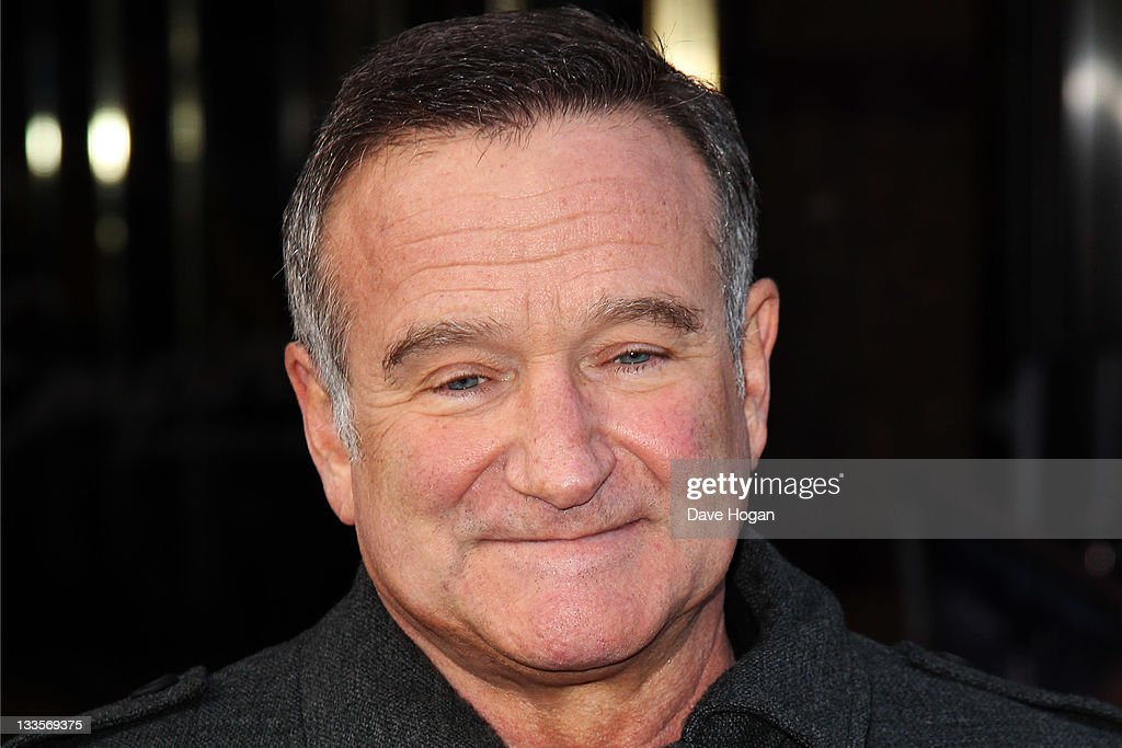 <a gi-track='captionPersonalityLinkClicked' href=/galleries/search?phrase=Robin+Williams&family=editorial&specificpeople=174322 ng-click='$event.stopPropagation()'>Robin Williams</a> attends the European premiere of Happy Feet Two at The Empire Leicester Square on November 20, 2011 in London, United Kingdom.