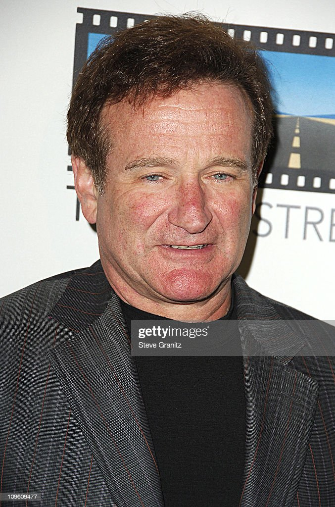 Robin Williams during Kevin Spacey Announces The Launch of The New Triggerstreet.com and Their Latest Venture With Budweiser Select at Social Hollywood in Hollywood, California, United States.