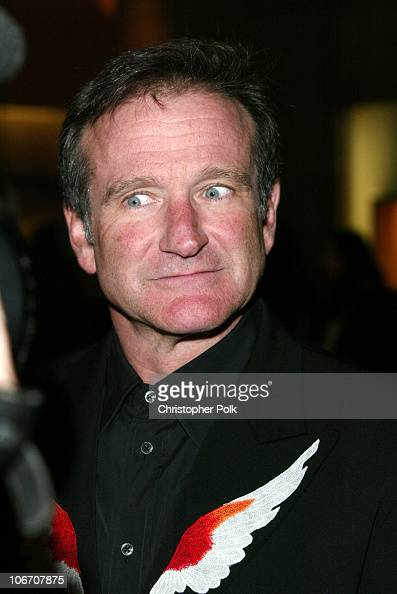 Robin Williams during Simon Wiesenthal Center Museum of tolerance 2003 Tribute Dinner honoring Billy and Janise Crystal at Beverly Hilton in Beverly...