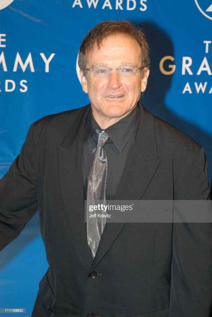 Robin Williams during The 45th Annual GRAMMY Awards - Arrivals at Madison Square Garden in New York, NY, United States.
