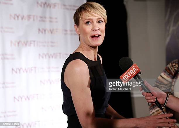 Robin Wright attends New York Women In Film And Television's 33rd Annual Muse Awards at New York Hilton on December 12 2013 in New York City