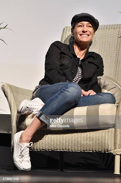 Robin Wright attends the 'In Their Shoes' event during the 20th Annual Nantucket Film Festival Day 5 on June 28 2015 in Nantucket Massachusetts