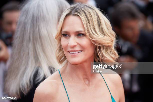 Robin Wright attends the 'Loveless ' screening during the 70th annual Cannes Film Festival at Palais des Festivals on May 18 2017 in Cannes France