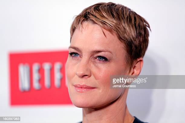 Robin Wright attends the Netflix's 'House Of Cards' New York Premiere at Alice Tully Hall on January 30 2013 in New York City