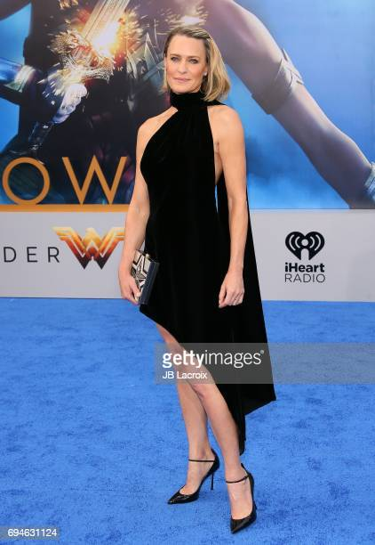 Robin Wright attends the premiere of Warner Bros Pictures' 'Wonder Woman' at the Pantages Theatre on May 25 2017 in Hollywood California