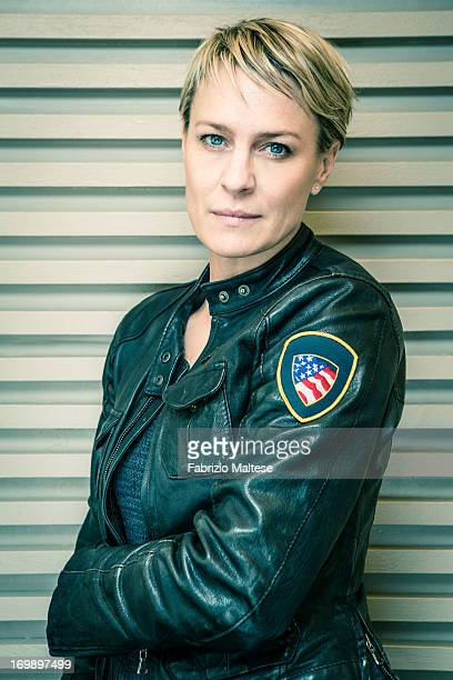 Robin Wright is photographed for The Hollywood Reporter on May 20 2013 in Cannes France ON INTERNATIONAL EMBARGO UNTIL AUGUST 30 2013