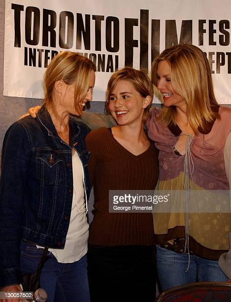 Robin Wright Penn Alison Lohman and Michelle Pfeiffer