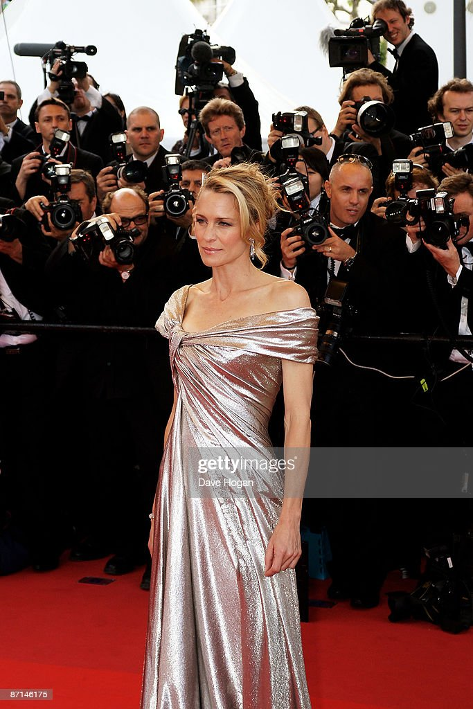 Robin Wright Penn attends the 'Up' Premiere at the Palais De Festival during the 62nd International Cannes Film Festival on May 13, 2009 in Cannes, France.