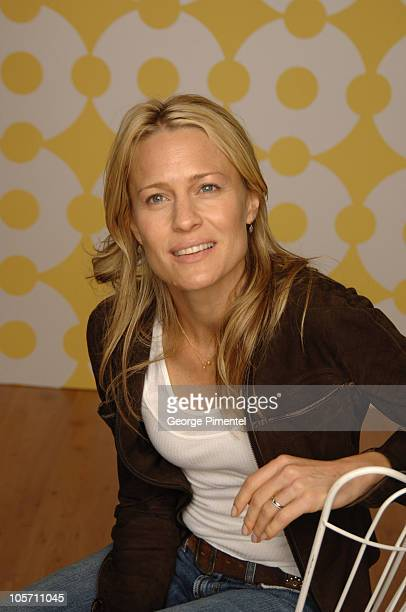 Robin Wright Penn during 2005 Toronto Film Festival 'Sorry Haters' Portraits at HP Portrait Studio in Toronto Canada