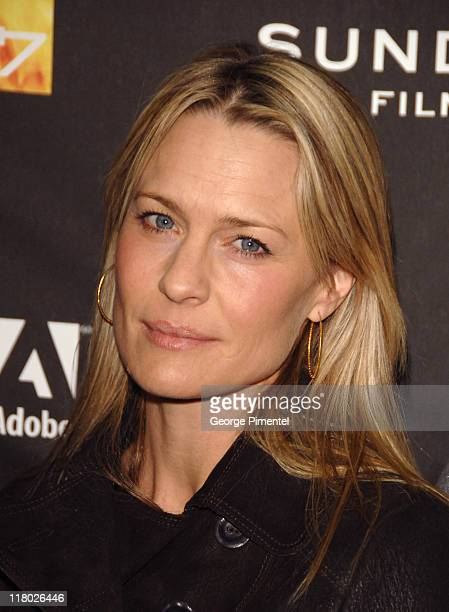 Robin Wright Penn during 2007 Sundance Film Festival 'Hounddog' Premiere at Racquet Club Theatre in Park City Utah United States
