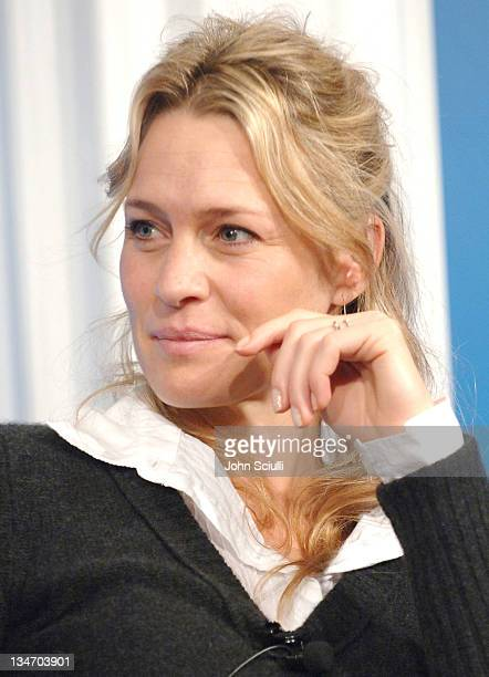 Robin Wright Penn during 31st Annual Toronto International Film Festival 'Breaking and Entering' Press Conference at Sutton Place in Toronto Ontario...
