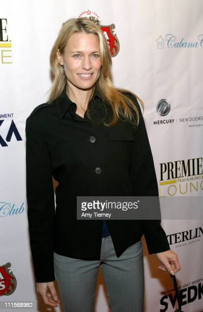 Robin Wright Penn during AFI Fest 2005 LiveStyle's Premiere Lounge for 'Sorry Haters' After Party at Cabana Club in Los Angeles California United...
