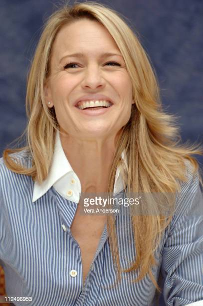 Robin Wright Penn during 'Breaking and Entering' Press Conference with Robin Wright Penn at Regent Beverly Wilshire in Beverly Hills California...