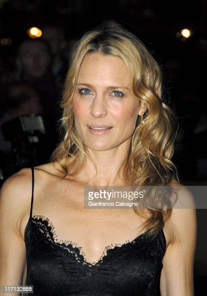 Robin Wright Penn during The Times BFI 50th London Film Festival UK Film Premiere of Breaking and Entering at Odeon West End in London Great Britain