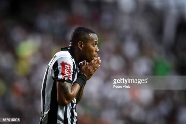 Robinho of Atletico MG a match between Atletico MG and Botafogo as part of Brasileirao Series A 2017 at Independencia stadium on October 29 2017 in...