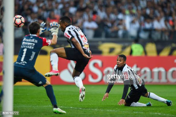 Robinho of Atletico MG a match between Atletico MG and Jorge Wilstermann as part of Copa Bridgestone Libertadores 2017 at Mineirao Stadium on August...