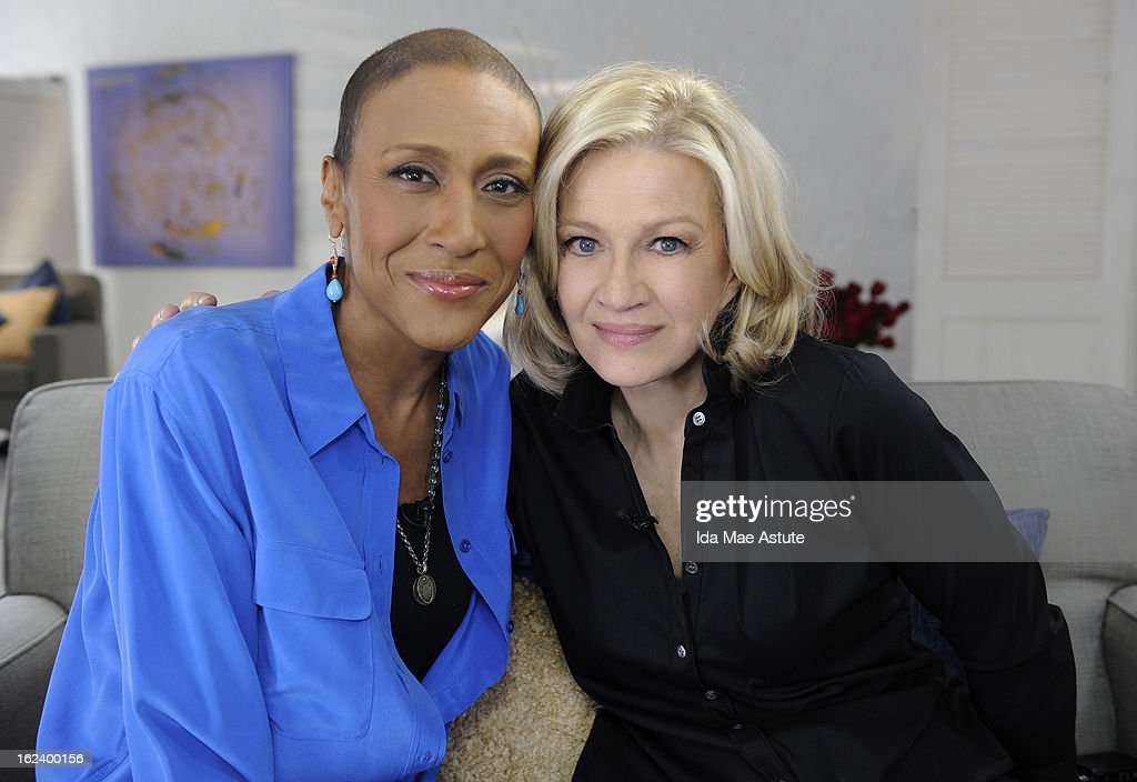 20/20 - 'Robin's Journey,' A Special Edition of 20/20, takes viewers on a candid, inspiring and intimate journey inside Robin Roberts' challenging fight against myelodysplastic syndrome (MDS), a rare blood disorder. The hour, which includes private moments beginning with the pre-transplant treatment, through her time in the hospital, to her return to GMA, airs FRIDAY, FEB. 22 (10-11 pm, ET) on the ABC Television Network. Friend and colleague Diane Sawyer sits down with Robin to reflect on the year. (Photo by Ida Mae Astute/ABC via Getty Images) ROBIN