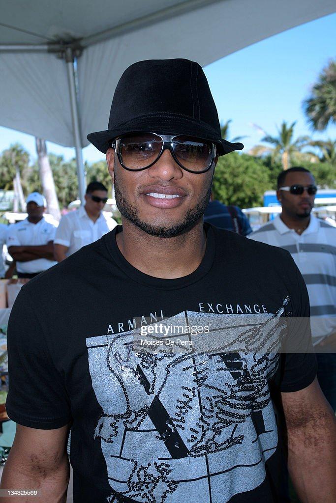 Robinson Cano attends the David Ortiz Celebrity Golf Classic Golf Tournament on December 5, 2009 in Cap Cana, Dominican Republic.