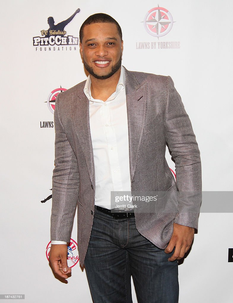 <a gi-track='captionPersonalityLinkClicked' href=/galleries/search?phrase=Robinson+Cano&family=editorial&specificpeople=538362 ng-click='$event.stopPropagation()'>Robinson Cano</a> attends the PitCCh In Foundation 2013 Challenge Rules Party at Luxe at Lucky Strike Lanes on November 8, 2013 in New York City.