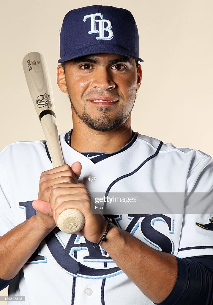 Robinson Chirinos of the Tampa Bay Rays poses for a portrait during the Tampa Bay Rays Photo Day on February 22 2011 at the Charlotte Sports Complex...