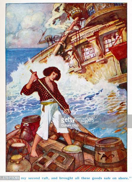 Robinson crusoe stock photos and pictures getty images - Mercredi robinson crusoe ...