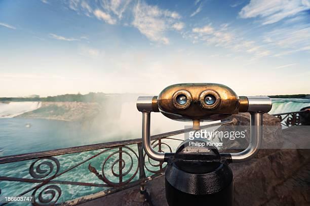 Robot at Niagara Falls