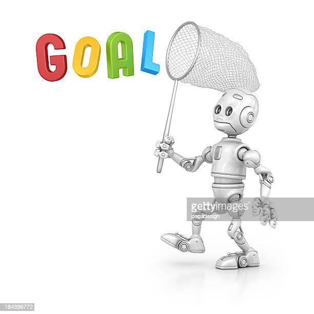 robot regardant l'objectif