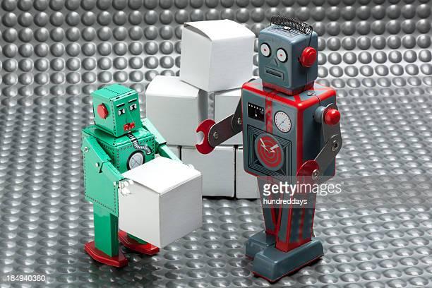 Robot Delivering Package