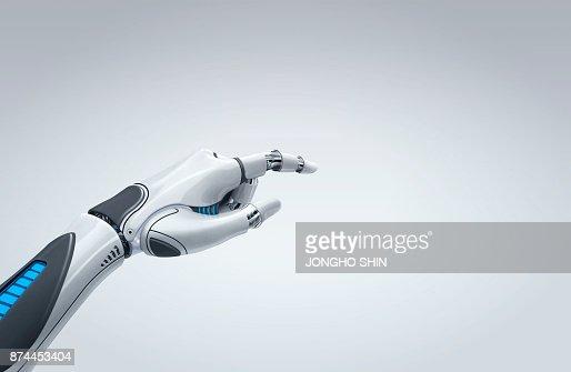 robot hand : Stock Photo