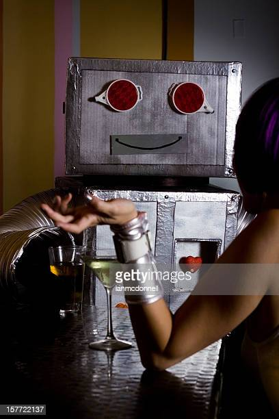 robot & spacegirl