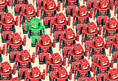 large team of Robots