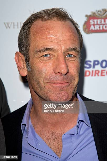 Robson Green attends party hosted by Slazenger during the Wimbledon tennis championships at Whisky Mist on June 27 2013 in London England
