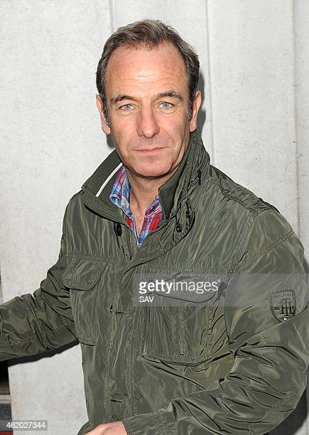 Robson Green sighting at BBC Radio 2 on January 23 2015 in London England