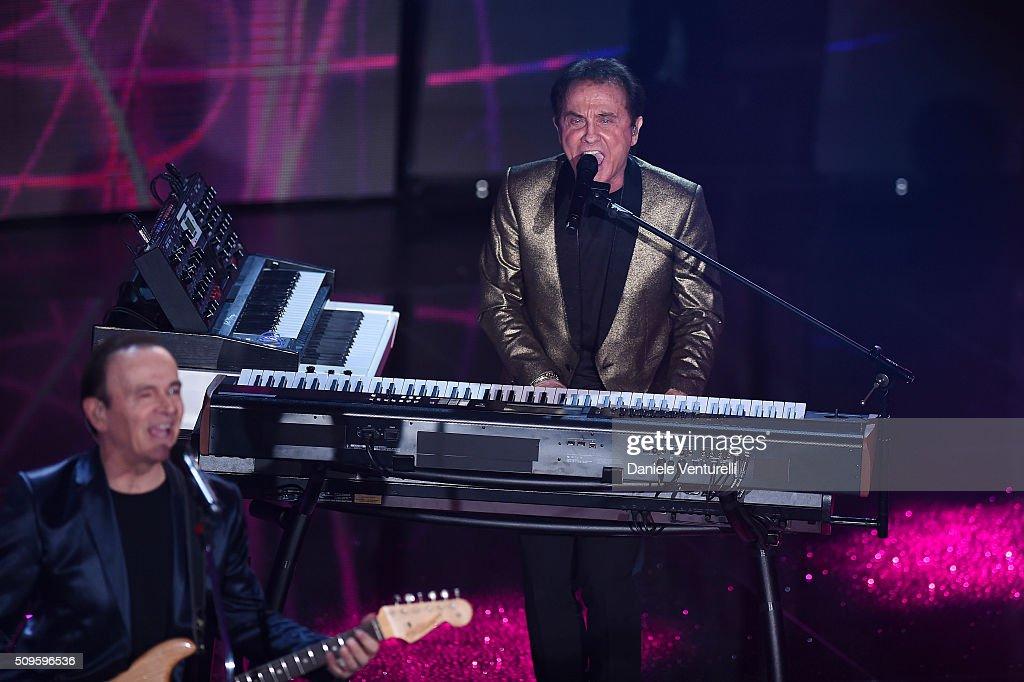 Roby Facchinetti attends the third night of the 66th Festival di Sanremo 2016 at Teatro Ariston on February 11, 2016 in Sanremo, Italy.