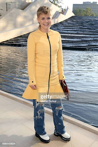 Robyn attends the Louis Vuitton show as part of the Paris Fashion Week Womenswear Spring/Summer 2015 on October 1 2014 in Paris France