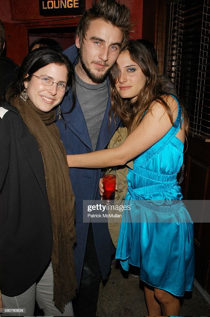 Robyn Berkely Gareth Moody and Celina Stang attend Tsubi NYC Opening and AfterParty at Tsubi and Velvet Lounge on March 29 2005 in New York City